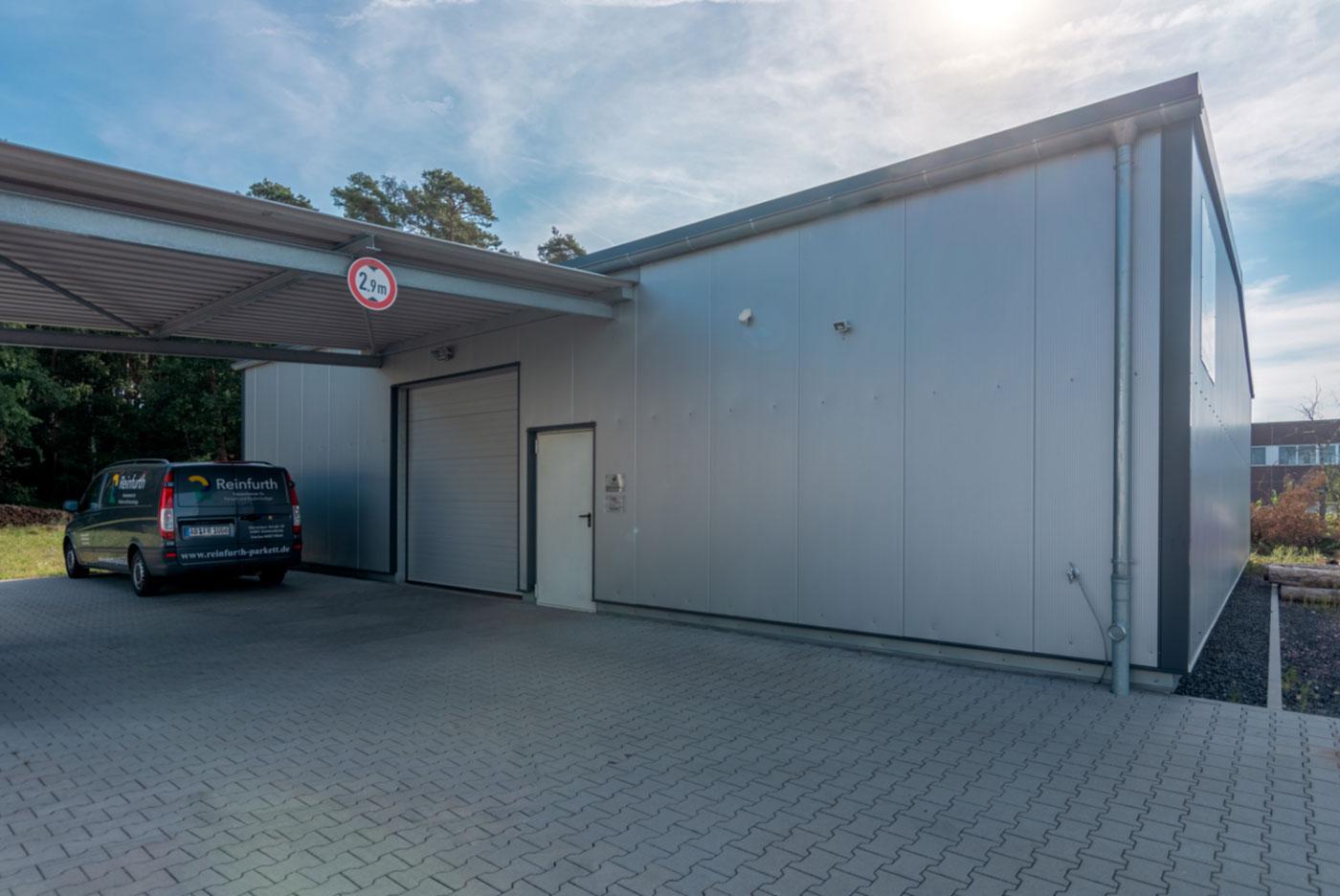 produktionshalle, Halle, theo albert, Bau, Bauunternehmen