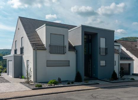 Einfamilienhaus, Einfamilienhäuser, bauen, planen, Rohbau, Schlüsselfertig,