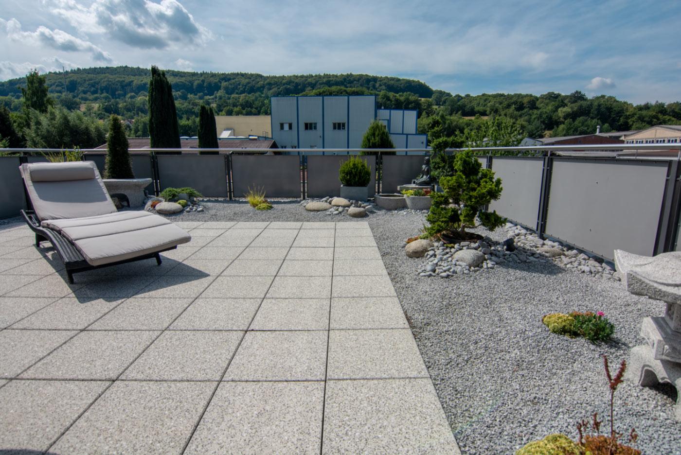 gehwegplatte, terrasse, balkon, gartenterrasse,