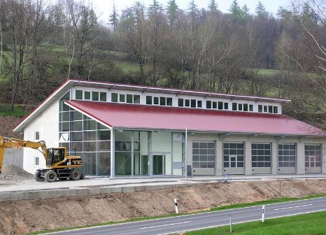 gewerbehalle, produktionsstätte, industriebau, albert bau, aschaffenburg